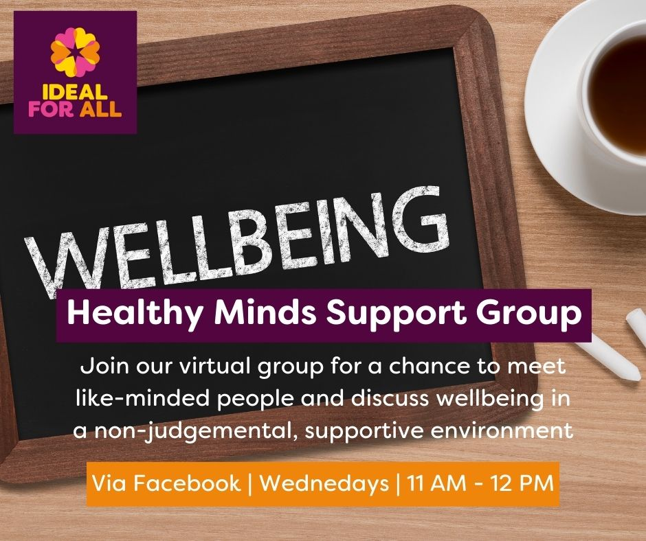 Healthy Minds Peer Support Group  event logo