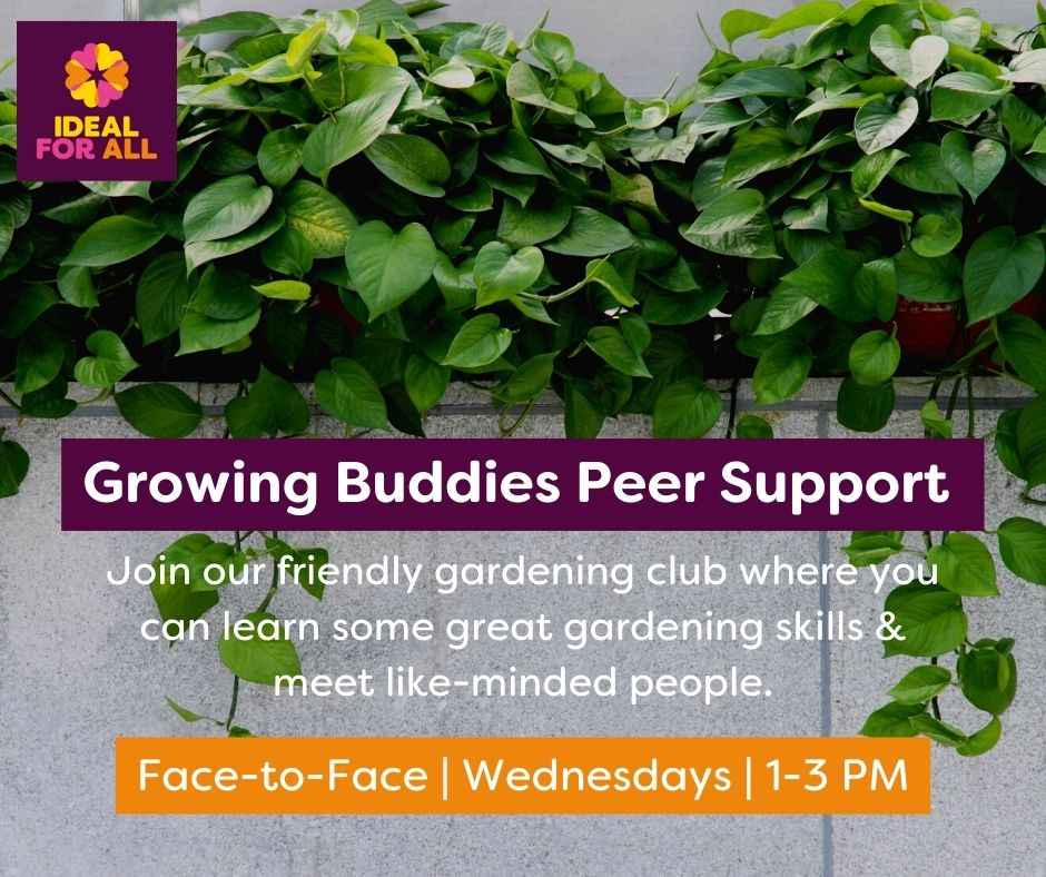 Growing Buddies Peer Support Group  event logo
