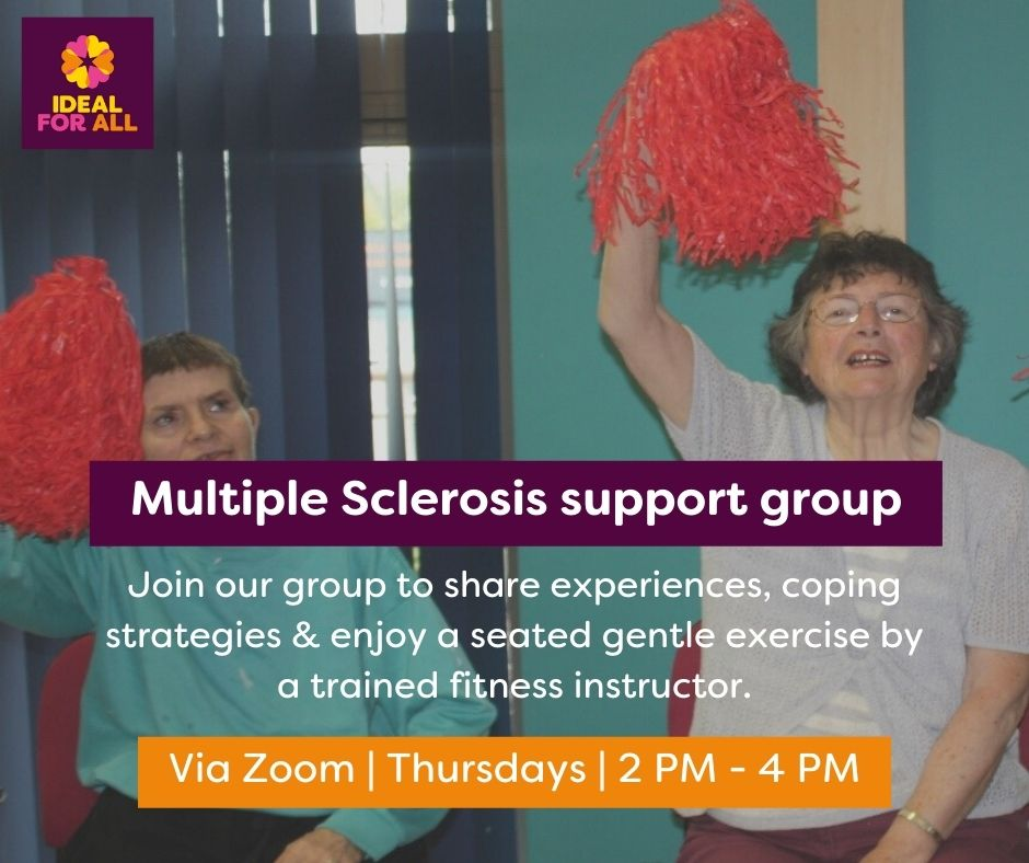 Multiple Sclerosis Peer Support Group  event logo
